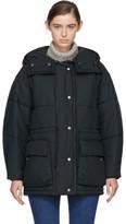 Etoile Isabel Marant Black Quilted Bulle Jacket