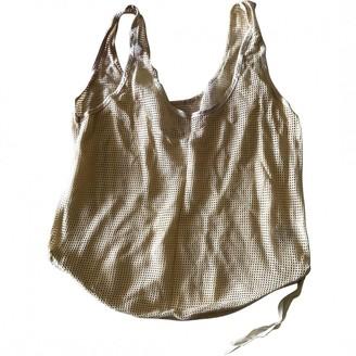 Maison Margiela Beige Cotton Handbags
