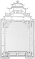 The Well Appointed House White Lacquer Pagoda Wall Mirror