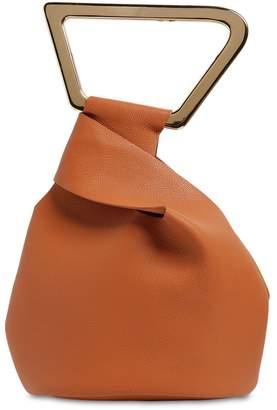 Cult Gaia Astraea Leather Tote Bag