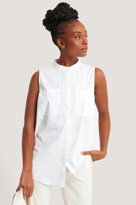 NA-KD Sleeveless Pocket Shirt