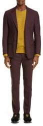 Maison Margiela Solid Wool Poplin Suit