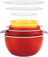 OXO Good Grips 9 Piece Nesting Bowls & Colander Set-Multicolor