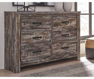 Malani 6 Drawer Double Dresser Millwood Pines