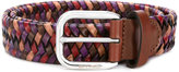 Etro woven belt - women - Calf Leather/Viscose - 90