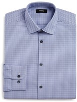 Theory Small Check Regular Fit Dress Shirt