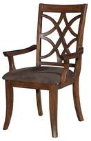 Acme Keenan Arm Dining Chair Wood/Dark Walnut (Set of 2)