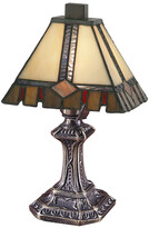 Dale Tiffany Castle Cut Tiffany Accent Table Lamp