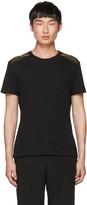 Alexander McQueen Black Feather T-shirt