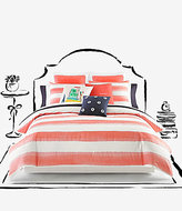 Kate Spade Painted Rugby-Striped Twill Comforter Mini Set