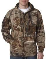 Code V Realtree Adult Camouflage Full-Zip Hooded Sweatshirt (S)