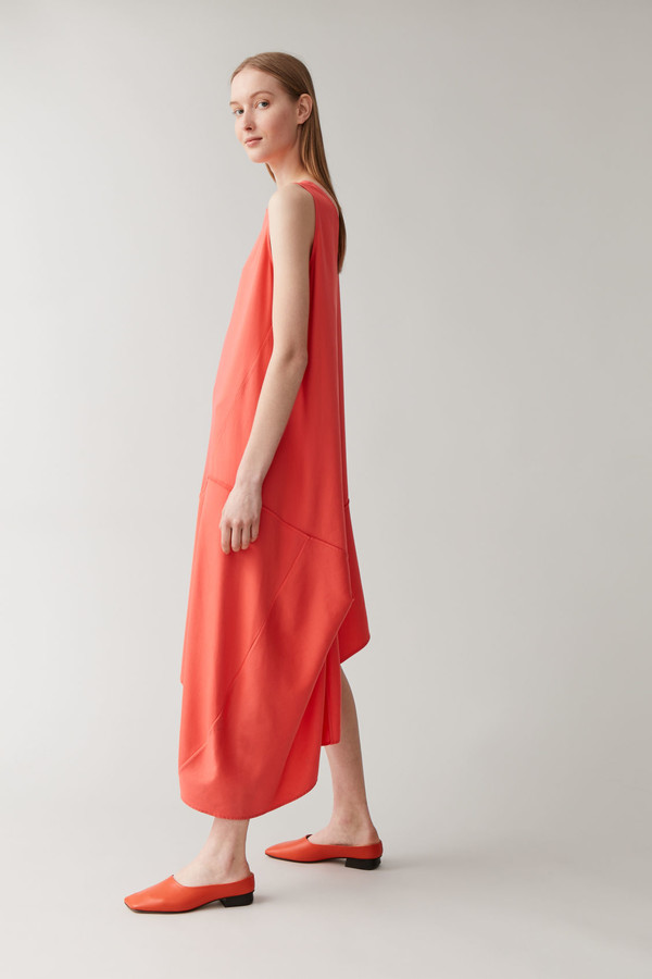Cos Sleeveless Asymmetric Dress