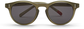 Oliver Spencer Sid Sunglasses Khaki