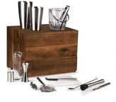 Pottery Barn Classic Bar Cabinet & Mixology Tool Set
