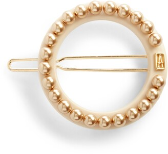 Alexandre de Paris Circle Side Barrette