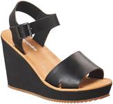 Antelope Black Open-Toe Leather Sandal
