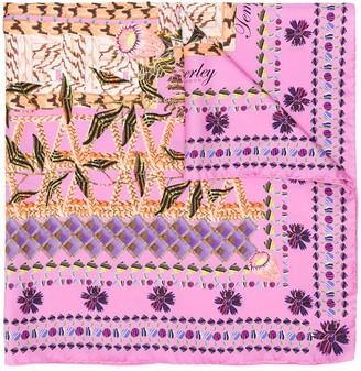 Temperley London Harmony floral print scarf