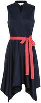 Diane von Furstenberg Marlene cotton-poplin dress