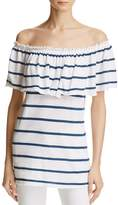 Chaser Off-the-Shoulder Striped Top