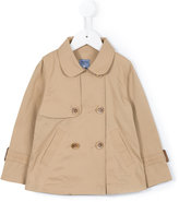 Familiar double breasted coat - kids - Cotton/Nylon - 2 yrs