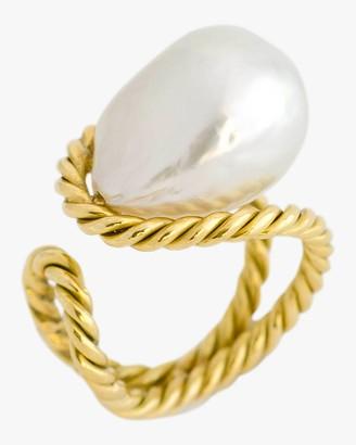 Haute Victoire Baroque Pearl Ring