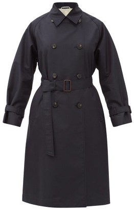 Max Mara Dama Trench Coat - Navy
