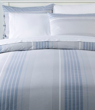L.L. Bean Organic Cotton Comforter Cover Collection, Stripe