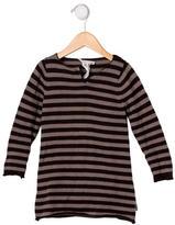 Bonpoint Girls' Striped Wool Dress