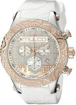 Mulco Men's MW5-2331-013 Couture Analog Display Swiss Quartz Watch