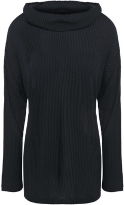 Eberjey Ula Waffle-knit Stretch-modal Pajama Top
