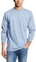 Carhartt Men's Flame Resistant Force Cotton Long Sleeve T-Shirt