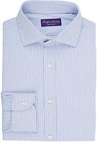 Ralph Lauren Purple Label Men's Striped Dress Shirt-BLUE