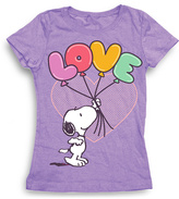 Freeze Peanuts Snoopy 'Love' Tee - Toddler & Girls