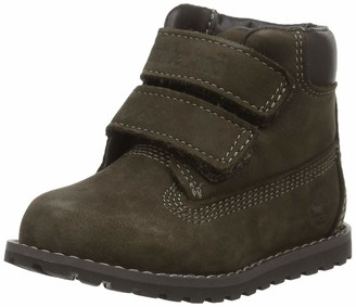 Timberland Pokey Pine H L Unisex Kids' Ankle Boots Beige (Wheat) 6 Child UK