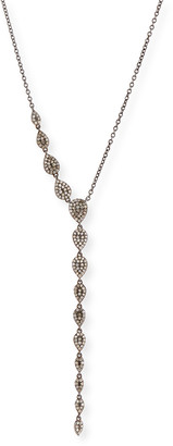 Siena Jewelry Diamond Teardrop Lariat Necklace