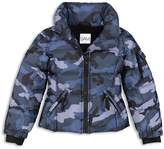 SAM. Girls' Camo Freestyle Down Jacket