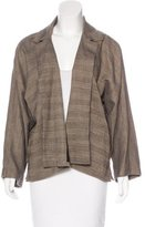 eskandar Linen & Wool-Blend Jacket