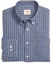 Brooks Brothers Cotton Broadcloth Gingham Sport Shirt