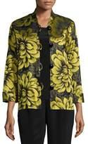 Caroline Rose Flower Show Boxy Jacket