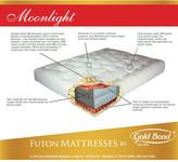"Gold Bond 9"" Cotton and Foam Futon Mattress"