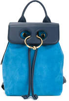 J.W.Anderson Pierce leather flap backpack