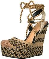 Schutz Women's Amandinha Espadrille Wedge Sandal