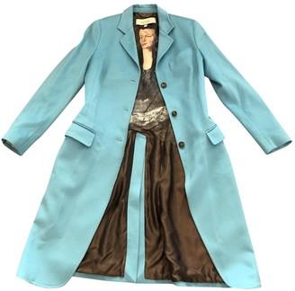 Paul Smith Turquoise Wool Coat for Women