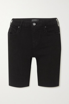 RtA Toure Denim Shorts - Black