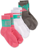 Nike 3-Pack Gradient-Stripe Crew Socks, Little Girls & Big Girls