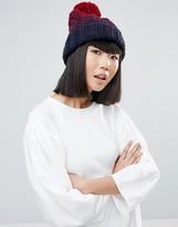 Eugenia Kim Genie By Brady Ombre Knit Hat With Pom Pom