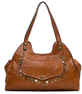 Patricia Nash Soft Veg Tan Collection Ergo Studded Satchel