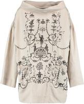 Vivienne Westwood Art printed twill blouse