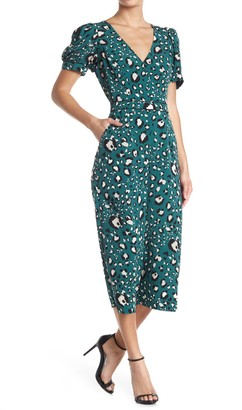Adelyn Rae Lilith Leopard Culotte Jumpsuit