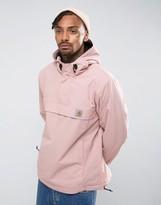 Carhartt Wip Nimbus Overhead Jacket In Pink